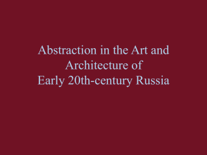PowerPoint Presentation - Abstraction in the Art and Architecture of
