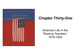 Kennedy, The American Pageant Chapter 31