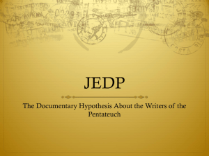 The Writers of the Pentateuch.html