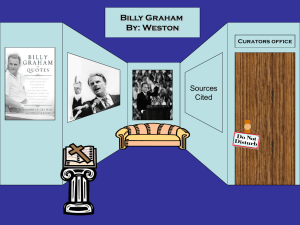 Billy Graham by Weston