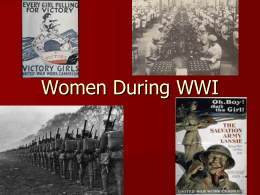 Women in WW1