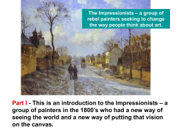 Meet the Impressionists reworked