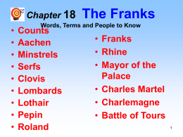 Chapter 18 The Franks - Dalton Local Schools