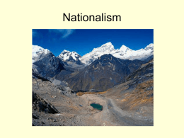 A2 Nationalism