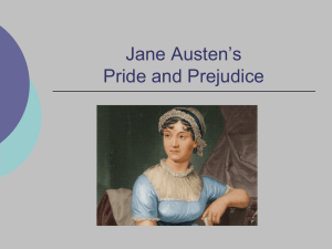Pride and Prejudice Powerpoint