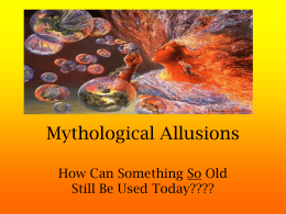 Mythological Allusions