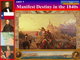 Manifest Destiny File