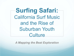 Surfing Safari PowerPoint with No Media