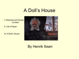 A Doll`s House ppt