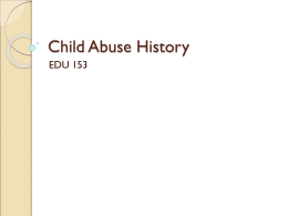 Child Abuse History