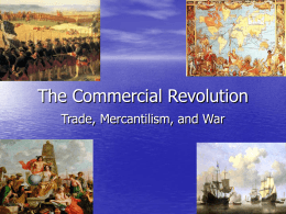 The Commercial Revolution - Hinsdale Central High School