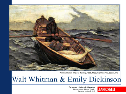 Whitman & Dickinson PPT