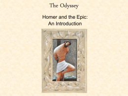 who does telemachus think odysseus is when they first reunite
