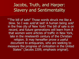 Jacobs-Truth-Harper PowerPoint