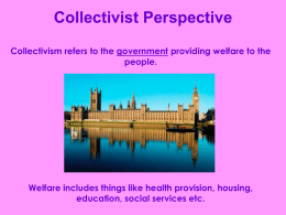 Collectivist Perspective