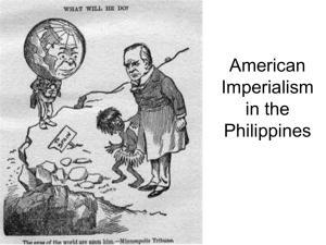 Imperialism in the Philippines
