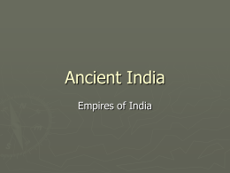 Empires of Ancient India PPT
