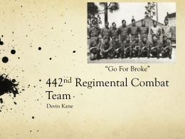 442nd Regimental Combat Team