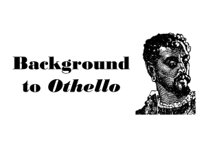 Background to Othello
