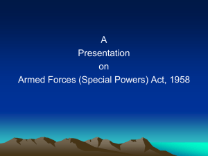 4) armed forces (special powers) act, 1958 - 09.02