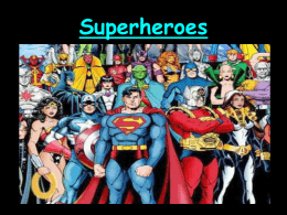 Superheroes Biographies