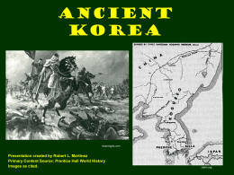 Ancient Korea - WordPress.com