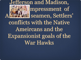 Explain the influence of three of the following on the US decision to