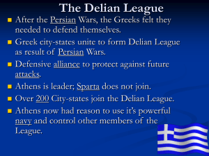 PowerPoint on the Delian League