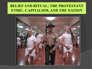 Belief and Ritual: The Protestant Ethic, Capitalism, and the Nation_20