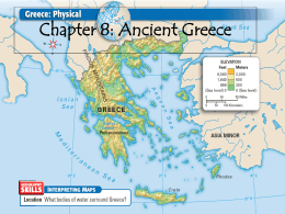 Chapter 8 Ancient Greece