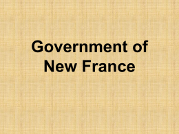 Government of New France