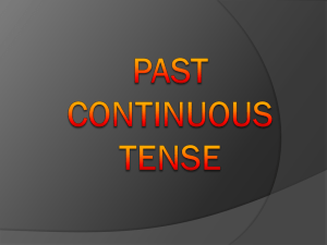 Grammatical points