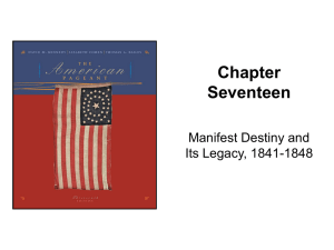 Kennedy, The American Pageant Chapter 17