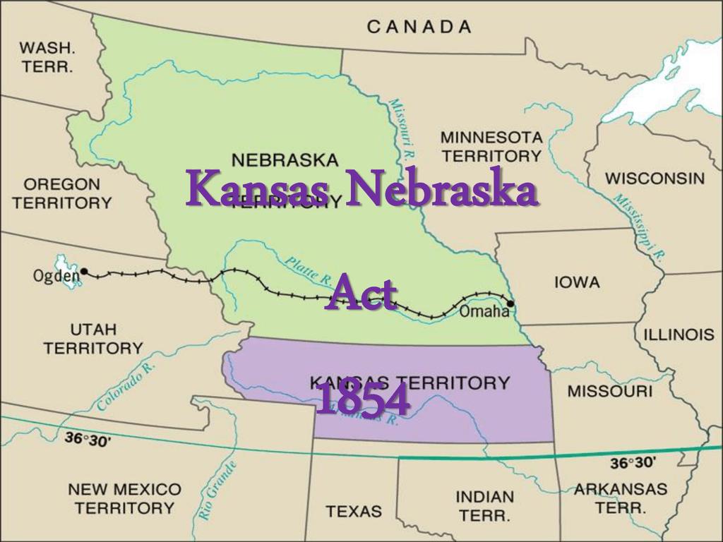 Kansas-Neska Act on