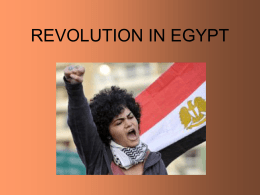 TO DOWNLOAD REVOLUTION IN EGYPT AND