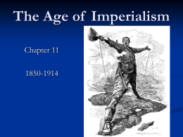 Ch.11 The Age of Imperialism