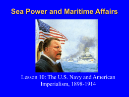 The US Navy and American Imperialism