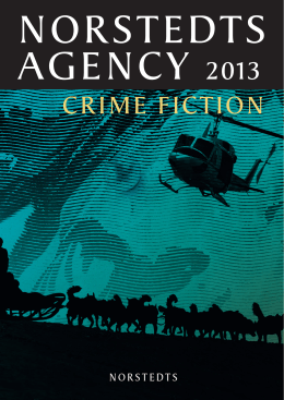 crime Fiction - Norstedts Agency