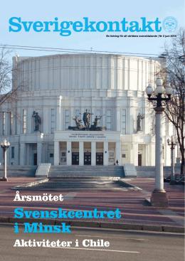 Svenskcentret i Minsk - Riksföreningen Sverigekontakt