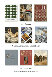 Nationalmuseum, Stockholm Art Books OMNN Ó OMNO