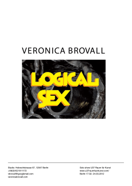 Logical Sex, U37 Berlin 2012