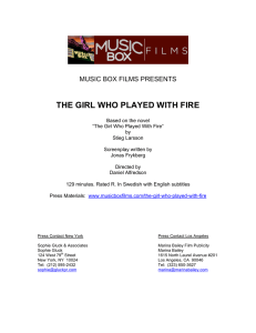 to a PDF of the Press Notes for The Girl Who Played With
