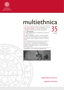 Multiethnica nr 35 (2014). /Ladda ner digital version
