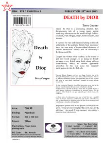 DEATH by DIOR - Dynasty Press