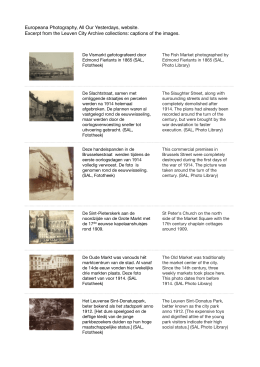 Europeana Photography, All Our Yesterdays, website. Excerpt from