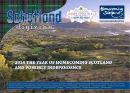 2014 the year of homecoming scotland and possibly independence