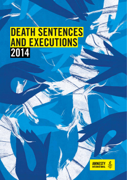 Death Sentences and Executions 2014