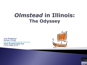 Olmstead Cases - Supportive Housing Providers Association