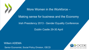 Gender equality in Education, Employment and Entrepreneurship