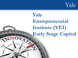 WIP - Yale Entrepreneurial Institute